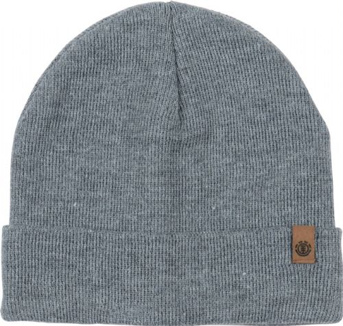 ELEMENT MENS HAT.NEW CARRIER II GREY KNITTED TURN UP/DOWN BEANIE CAP 7W BNA3 9